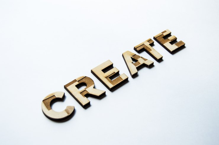 CREATE logo sign