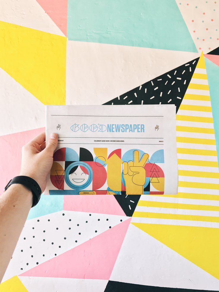 Good Newspaper - Good Manners colourful artwork
